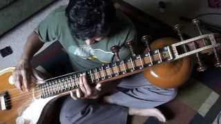 Tum Hi Ho - Working on Indian notes using Veena