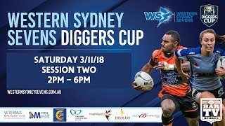 2018 Western Sydney Sevens - Diggers Cup - Saturday Session two