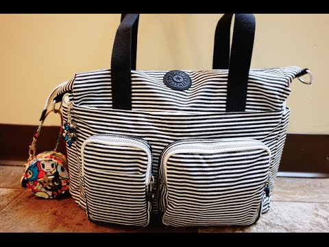 packing video striped kipling sady packed as a diaper bag with ju ju be youtube. Black Bedroom Furniture Sets. Home Design Ideas