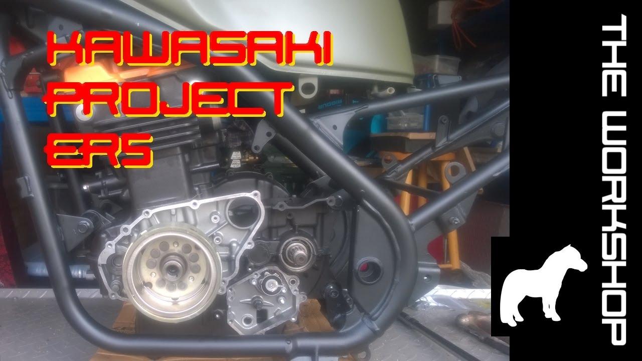 Kawasaki Er5 Kle Ex500 Episode 70 Shifter Mechanism Install Gpz500s Wiring Diagram