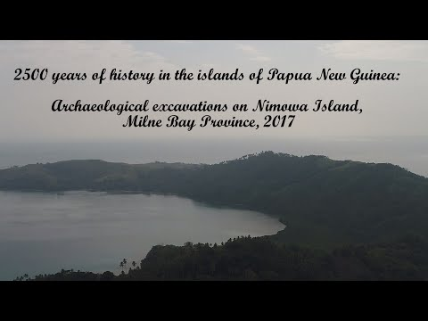 2500 Years Of History In The Papua New Guinea Islands: 2017 Excavation On Nimowa Island, Massim