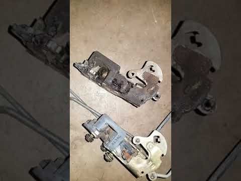 Replacing An S10 Door Latch Youtube