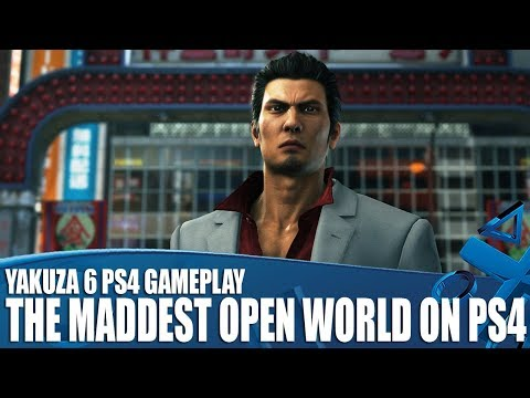 Yakuza 6 PS4 Gameplay - Why It's The Maddest Open World on PS4