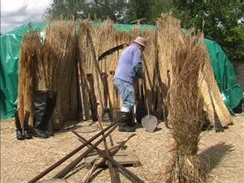 Master Reed Cutter Eric Edwards hangs up his scythe