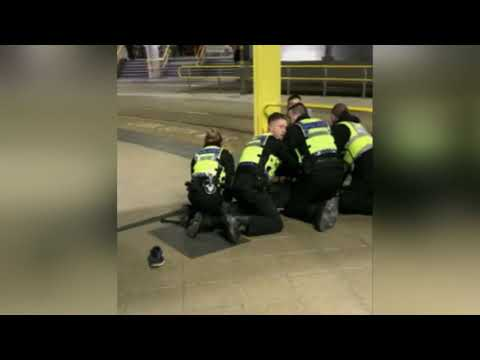 Manchester police treat New Year's Eve stabbing as terrorism
