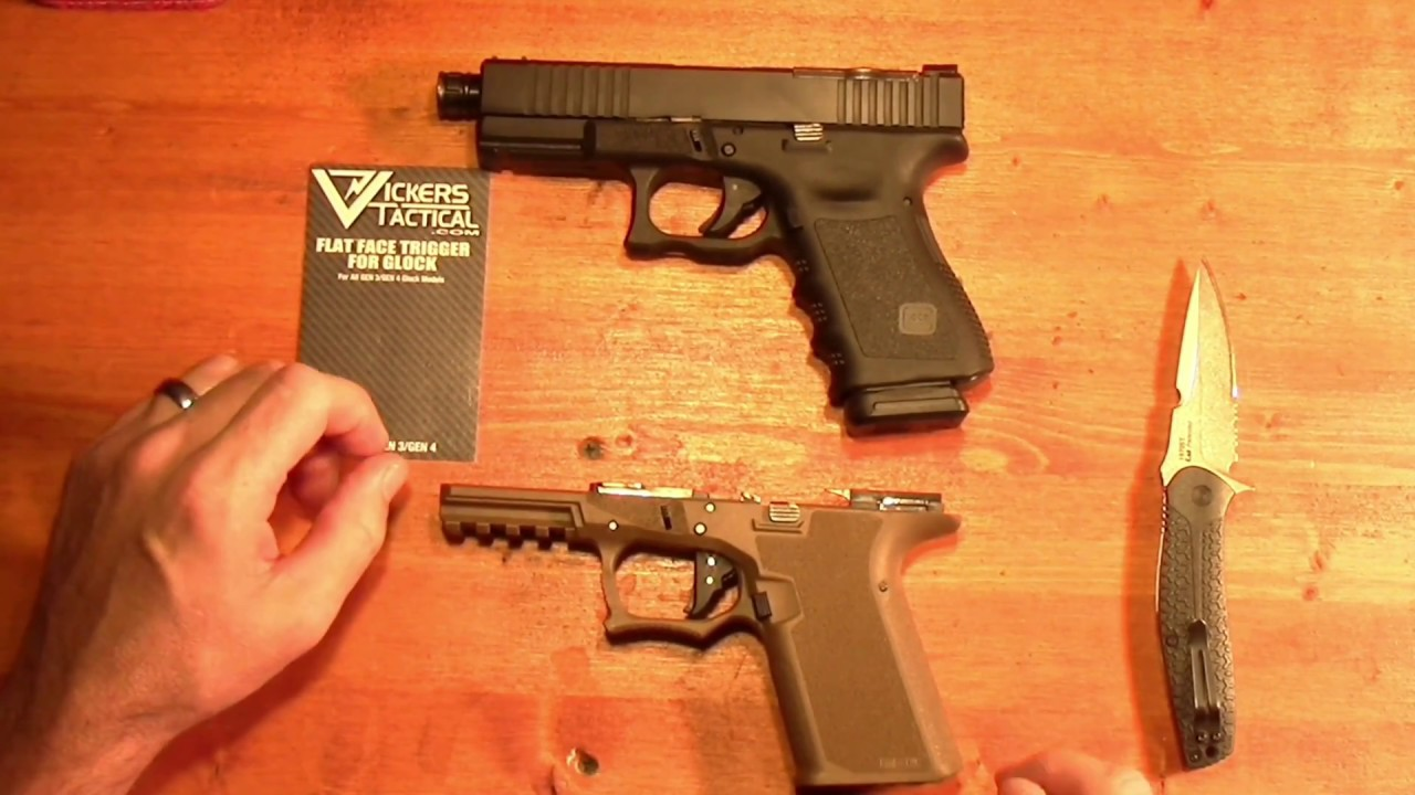 Vickers Tactical flat faced trigger range time