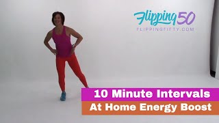 10 Minute At Home Energy Boost | Exercise During Menopause
