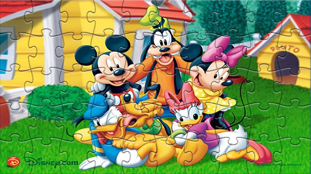 mickey mouse disney amazing puzzle games kids game club