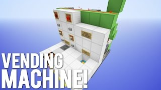 Minecraft: Redstone Vending Machine