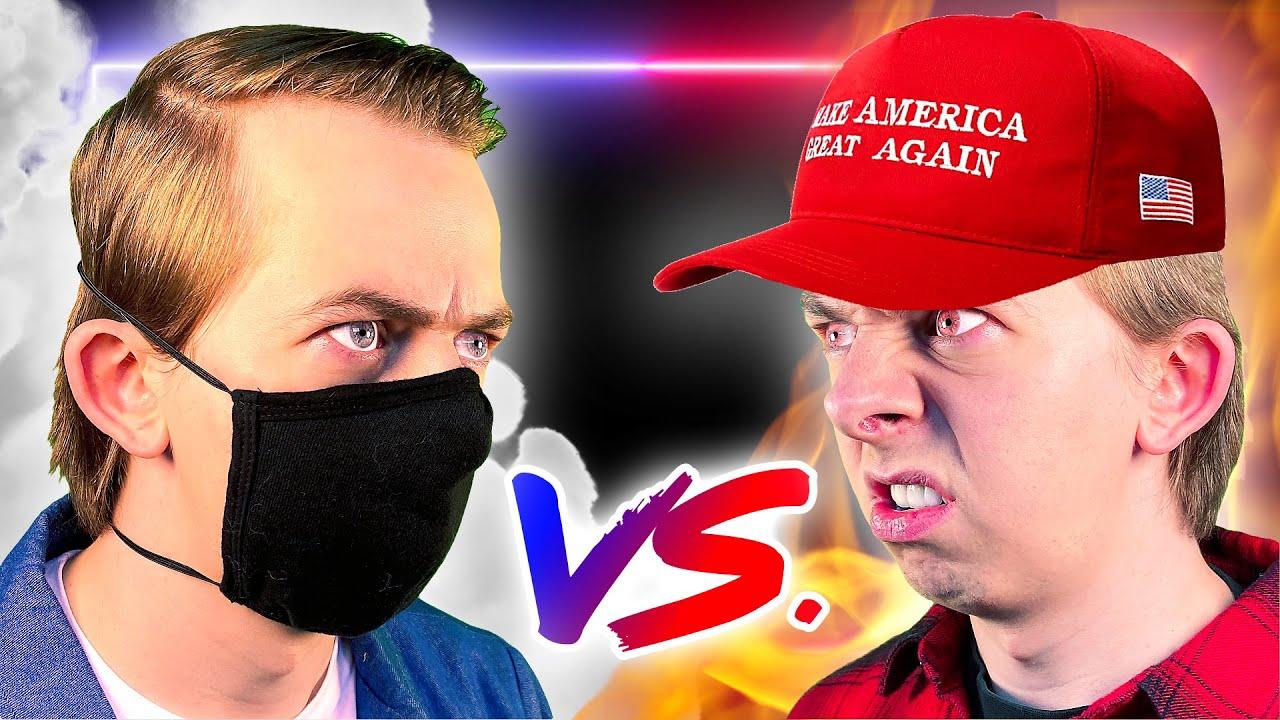 Face Mask Rap Battle (EXPLICIT)