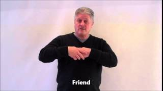 British Sign Language, Family no 4 step by step for beginners 2015