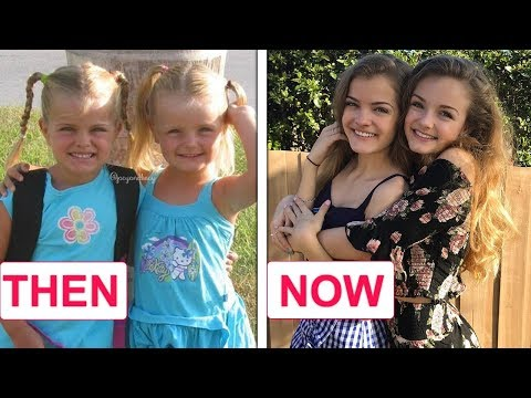 Iza And Elle AND Jacy And Kacy (Twin's Sisters) - Then And Now / Before And After