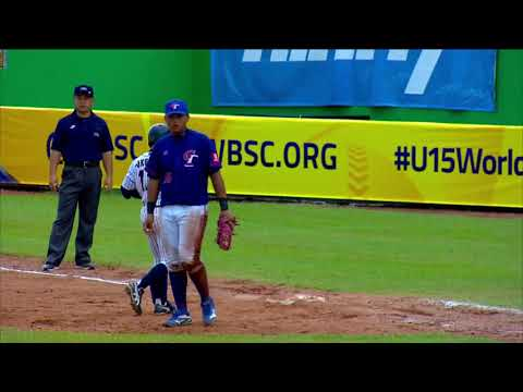 Highlights: Chinese Taipei v Japan - Bronze Medal Game - U-15 Baseball World Cup 2018