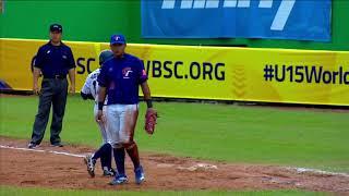 Highlights: Chinese Taipei v Japan - Bronze Medal Game - U-15 Baseball World Cup 2018