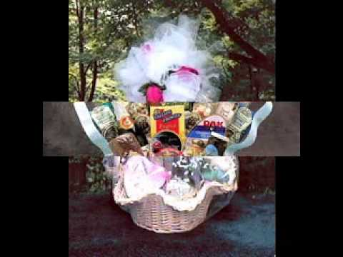 DIY Wedding gift basket decorations ideas