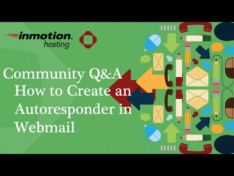 How To Create An Auto Responder In Webmail