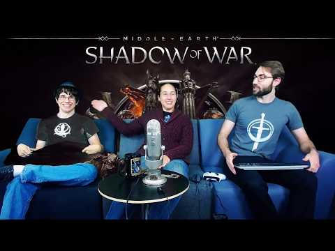 Shadow of War Livestream - Production and QA 100% Playthrough, No Hud, Act 2 Nurnen, Part 5