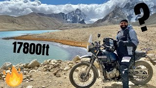 Riding to 17800 Feet - Gurudongmar Lake Bike Ride🔥🔥🔥