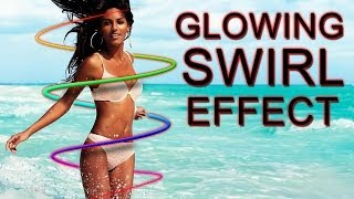 Glowing Swirl Effect - Photoshop Tutorial