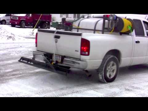 Liquid Snow And Ice Control Sprayer Systems