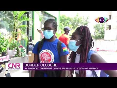 Coronavirus: 41 stranded Ghanaians in USA arrive in Ghana
