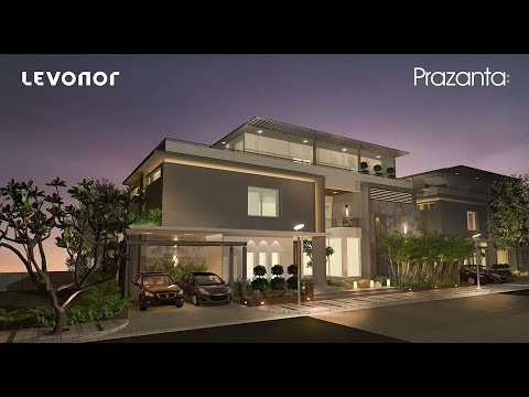 Prazanta - Luxury Villas in Hyderabad   4bhk Villas at Attapur   High-End  Villas   Levonor Projects