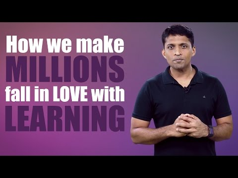 Making millions fall in love with learning