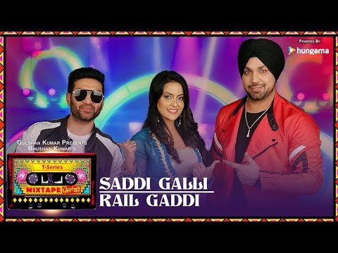 SADDI GALLI/RAIL GADDI (Video) | Mixtape Punjabi | Deep Money | Preet Harpal | Amruta Fadnavis