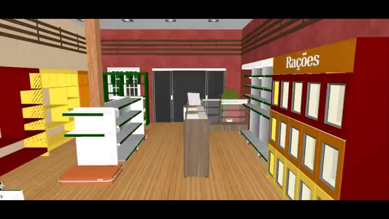 projeto de layout petshop chico layout projemarket consultoria do varejo 45 91213447 youtube. Black Bedroom Furniture Sets. Home Design Ideas