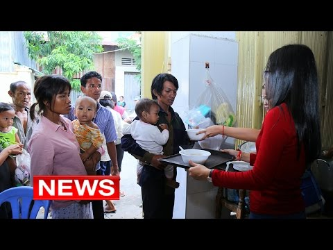 20150929 - The 28th Mengly J. Quach Food Banking and Donations to The Restaurant for Children_BTV