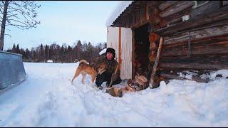 Рыбалка ловим живца Закинул Донки на щуку Начал приучать собаку к Бурану