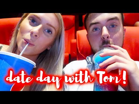 £20 DATE DAY CHALLENGE WITH TOM AT CINEWORLD! 🍿🎥 *VLOG*