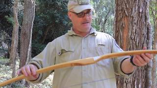 Primitive Self Bows - HOW TO MAKE A BOW.