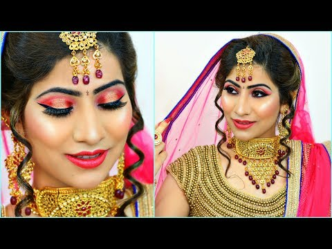 Most AFFORDABLE Indian BRIDAL Makeup - Step By Step Tutorial | #Budget #Wedding #Bride #Anaysa