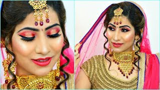 Most AFFORDABLE Indian BRIDAL Makeup Step By Step Tutorial | #Budget #Wedding #Bride #Anaysa