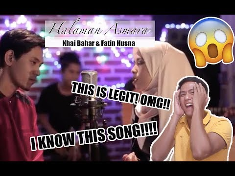 Khai Bahar & Fatin Husna - Halaman Asmara | SINGERS REACT