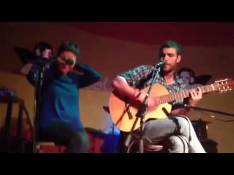 4 chords song-mixed songs! live ( by Samer and Serena)