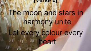 NDP 2010 THEME SONG- Song For Singapore (LYRICS!)