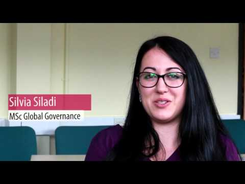 MSc Global Governance Induction - University of South Wales