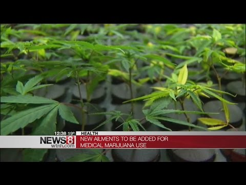 State to add 3 conditions for medical marijuana patients