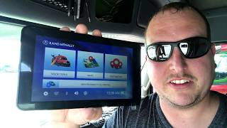 Unboxing Rand McNally TND740