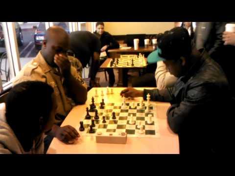 Donald Bolt vs GM Maurice Ashley @ Starbucks