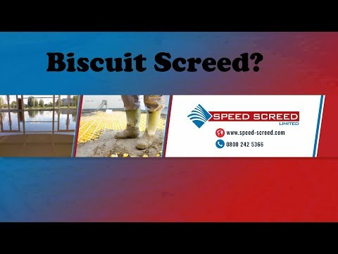 Biscuit Screed?