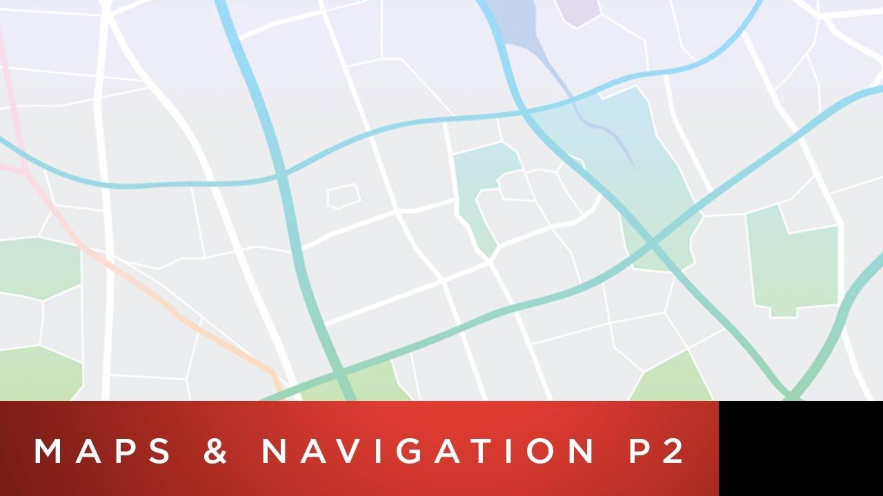 Tesla Model 3 Tutorial | Maps & Navigation (Part 2) - YouTube
