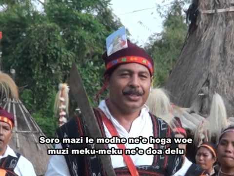 Lagu daerah Ngada-Mai meda dia sa'o Dewa