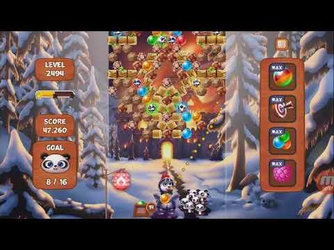 Panda Pop- Level 2494 (A Fiery Nightmare)