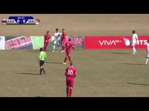 FFA/VSPORT/Մ19 Հայաստան - Մ19 Սերբիա/U19 Armenia vs U19 Serbia/17.03.2016