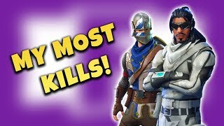 MY MOST KILLS EVER! WRECKING IN DUOS! with PROXARPLAYS (Fortnite Battle Royale)