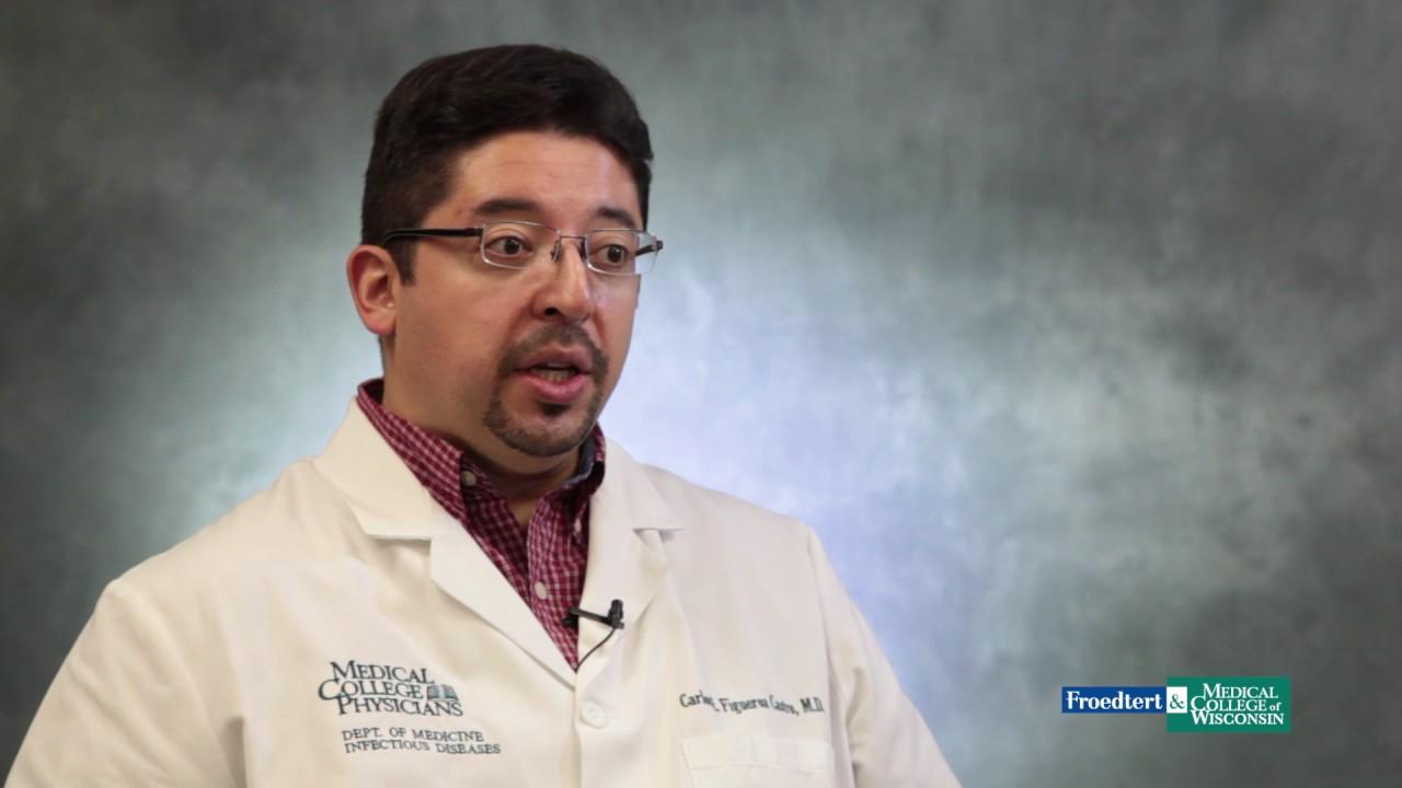 Dr  Carlos Figueroa Castro, infectious disease specialist