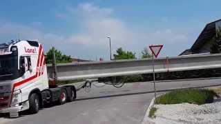 Betonbinder- Transport